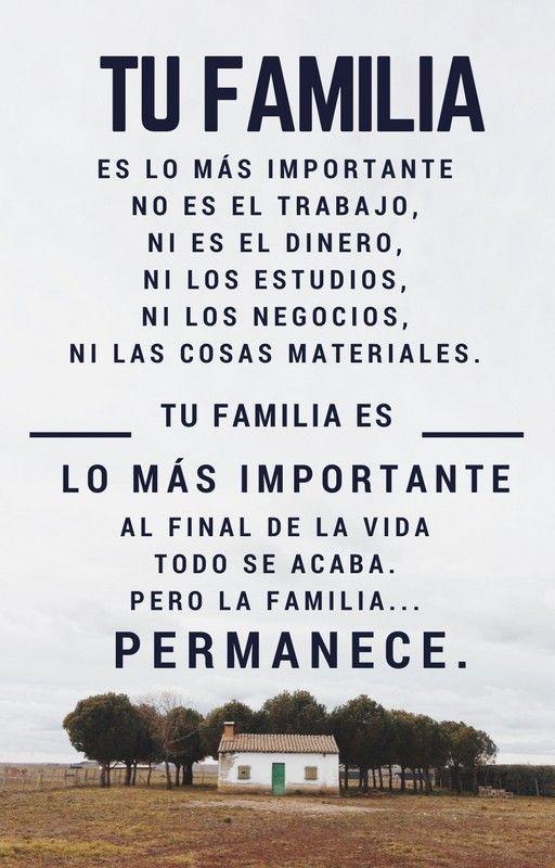 frases la familia es lo mas importante