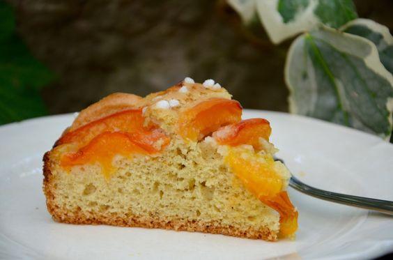 Gâteau aux abricots