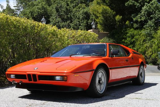 here's a BMW  M1.