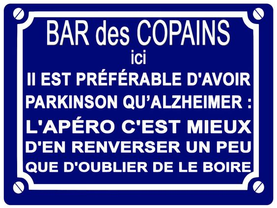 d tails sur plaque de rue d co alu 200 150 mm bar des copains humour impression pro bar. Black Bedroom Furniture Sets. Home Design Ideas