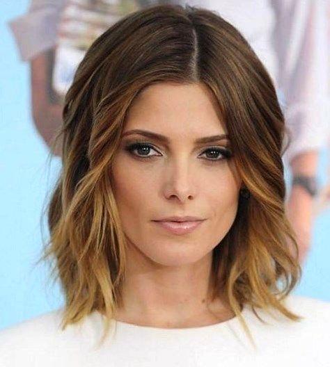 Frisuren Frauen Mittellanges Haar Frisurentrends In 2020 Haarschnitt Frisuren Schulterlang Langhaarfrisuren