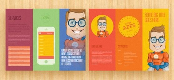 30 Desain Brosur Flyer Template Download Gratis - Brosur-Flyer