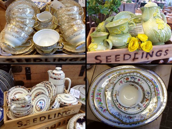 #vintage china tea services