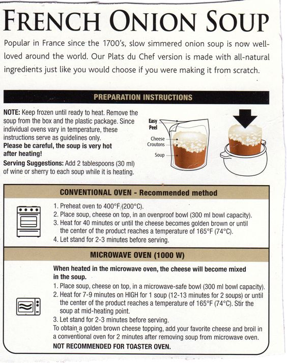 cup a soup instructions