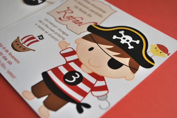 Ideias do Studio: Festa Pirata (nova!)
