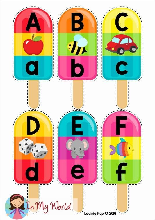 Summer Popsicle Alphabet And Beginning Sounds Free Printable In My World Alphabet Preschool Alphabet Literacy Centers Preschool teaching resources for free