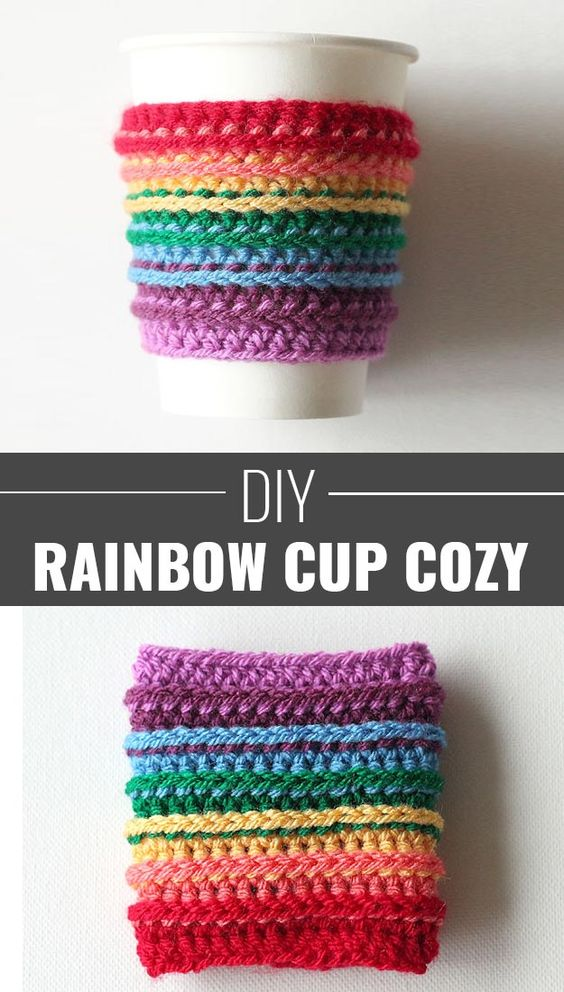 Crochet cup cozy make and sell and crafts to make on for Cute diy things to sell