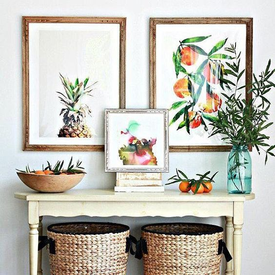 Decorate your home with your delicious art works from the Minted community of artists. Image courtesy @nestofposies.
