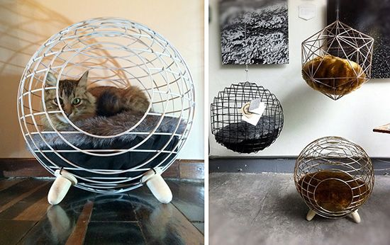 Designer Cat Hideaway from Lord Paw Pets