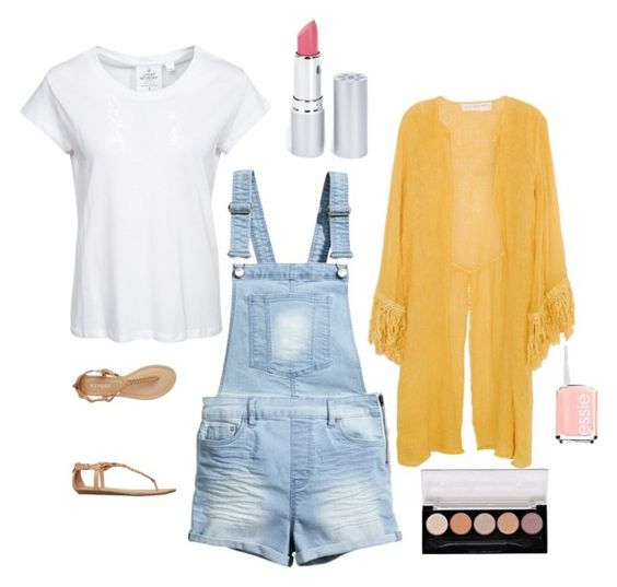 """""""Summer Style #2"""" by poptartkitty100 on Polyvore featuring Cheap Monday, H&M, Report, Jens Pirate Booty, HoneyBee Gardens, Essie and SWAGGY"""