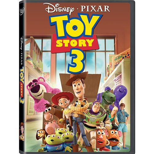 Toy Story 3 DVD $15