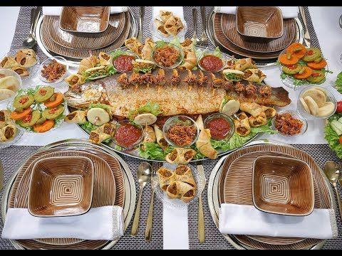 صينية سمك محشي ومطهي بالفرن بطريقة مميزة جدا وتقديم رائع Youtube Food And Drink Diet Recipes Food