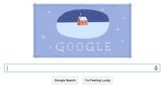 #GoogleDoodle Happy Holidays!