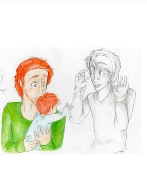 Fred and George ;_; why do the people who make this awesome fan art want to make me cry?