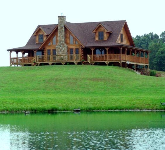 Beautiful Lake Homes: O M G!!! I Think I Just Found My Dream Home!!! Now I Need
