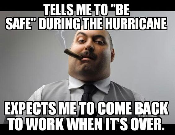 """Pretty much what the """"Scumbag Boss"""" meme has become recently. I wonder if most people have ever truly worked for a bad boss."""