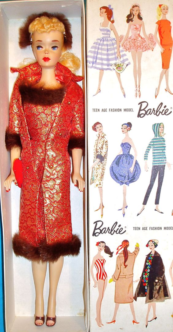Sample Doll with amazing variation of Golden Elegance, The Boutique - Barbie, Fashion Icon of the 60's