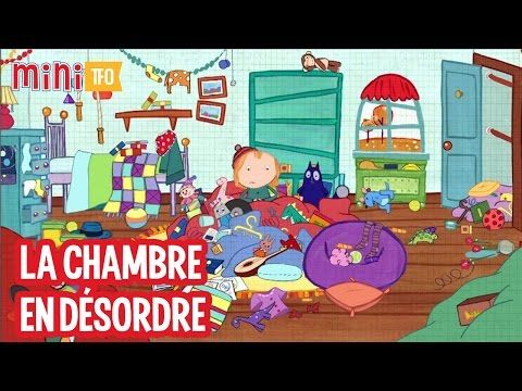 Peg chat la chambre en d sordre youtube la maison for Chambre en desordre