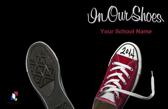 Great Yearbook Cover Idea! This Cover Was Created By