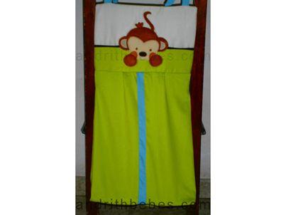 Ropa sucia Miss Monkey. Fabricamos a la medida de tus sueños. www.andrithbebes.com Cali - Colombia