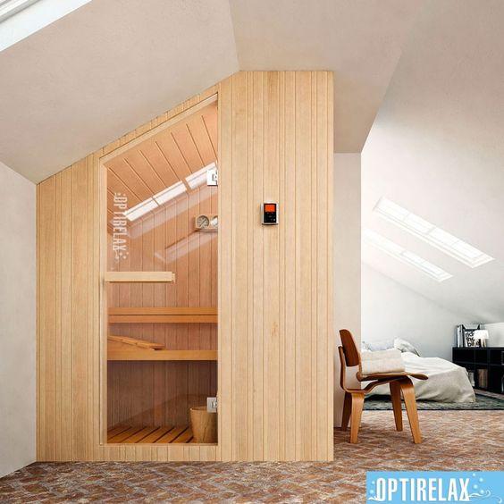 Sauna Dachschräge GS-OPX Slope jetzt neu! -u003e     der Blog für - sauna fürs badezimmer