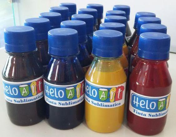 """(A)Tinta Sublimatica / KIT 4 cores 100 ml cada cor - """"HELOART"""""""