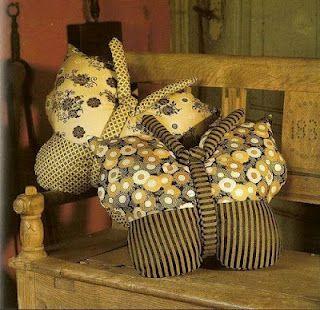 almofada de borboleta
