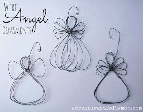 How to Make a Wire Angel Ornament - Nativity Ornament Series