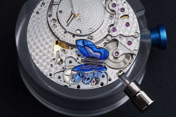 Van Cleef & Arpels Lady Arpels Papillon Automate - arte incontra gli orologi