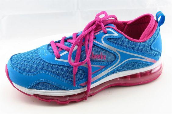 Cheeks AIR TRAC TRAINER Women Athletic Shoe Sz 8 Blue Fabric Running Cross Trai https://t.co/H9MznmdYIP https://t.co/PJgUXHuaMj