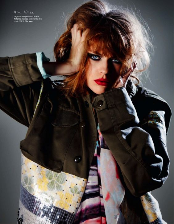 cool Elle Holanda | Editorial Moda Março 2013 | Elise Smidt e Femke Oosterkamp por Pablo Delfos