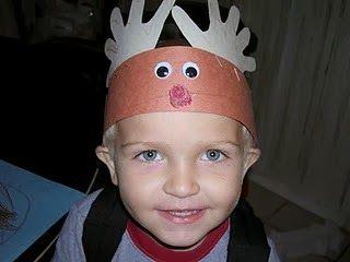 Easy Reindeer Headband