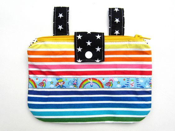 WUNDERLAND(gürteltasche) Regenbogen Hüfttasche