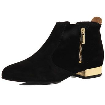 Black leather ankle boots - Dorothy Perkins United States ($100-200) - Svpply