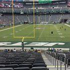 2 New York Jets vs Baltimore Ravens Tickets Lower L Aisle Seats !! NFL Week 7 NR