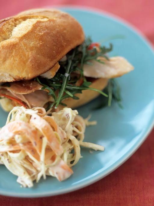 Chicken & Coleslaw   Chicken Recipes   Jamie Oliver Recipes