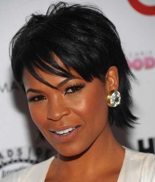 Fine Hairstyles For Black Women Black Women And Short Hairstyles On Short Hairstyles For Black Women Fulllsitofus