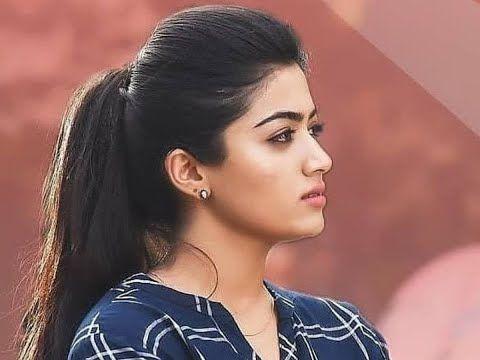 Rashmika Mandanna 2019 New Telugu Hindi Dubbed Blockbuster Movie 2019 South H In 2020 Most Beautiful Indian Actress Beautiful Bollywood Actress Beautiful Actresses