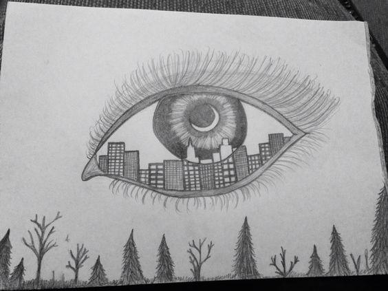 City Eye Drawings amp Tattoo Designs Pinterest Eyes