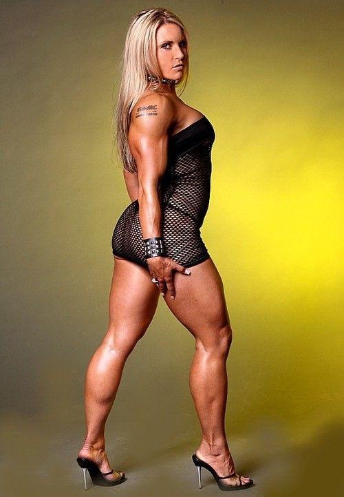 Muscular female bodybuilder lisa cross topless video 8