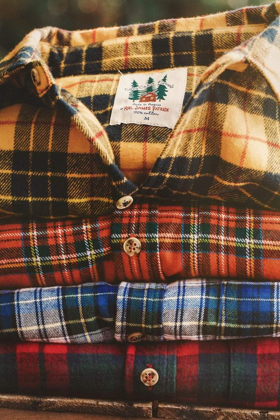 flannel shirts 90s trends for fashion