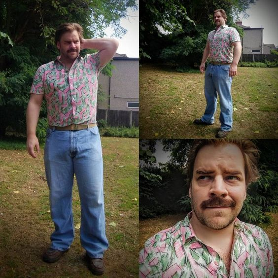 Jim Hopper cosplay from Stranger Things season 3