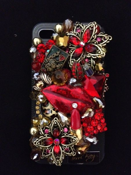 My Red Lips!!!..iphoneblingcovers.com