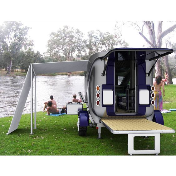 Compact Caravan by Heather , via Behance