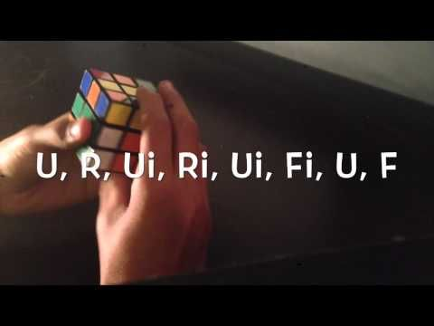 Rubiks Cube: How To Solve: Part 2 of 3 (Second Layer) - http://goo.gl/9g7mnt