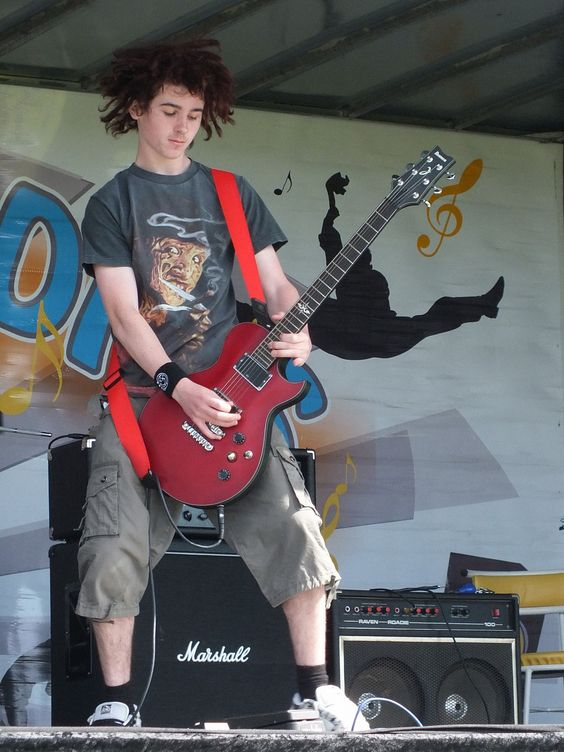 Ged, Side Show's awesome guitarist