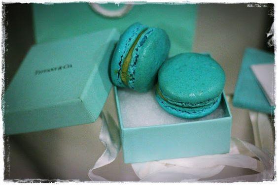 Diary of a Yummy Mummy - Tiffany blue macarons