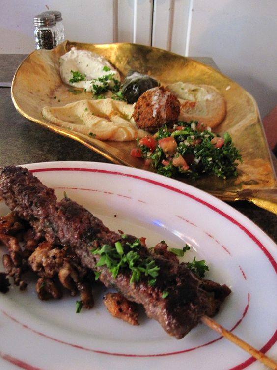 Delicious Lebanese food. I usually order a mezza plate and cabbage rolls.
