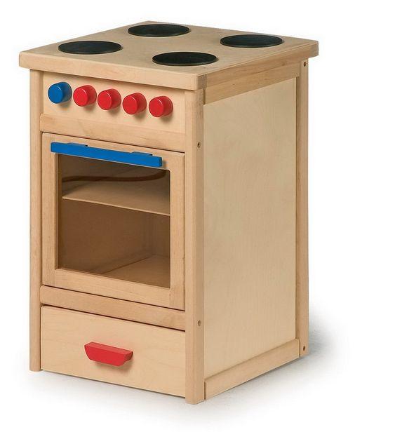 Cocinita con horno para ni os de madera en el pa s de los for Cocinitas para ninos