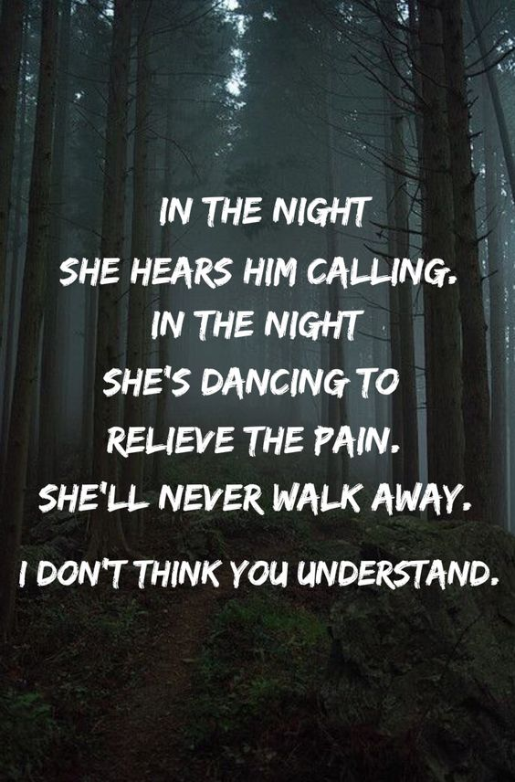 In the Night The Weeknd lyrics